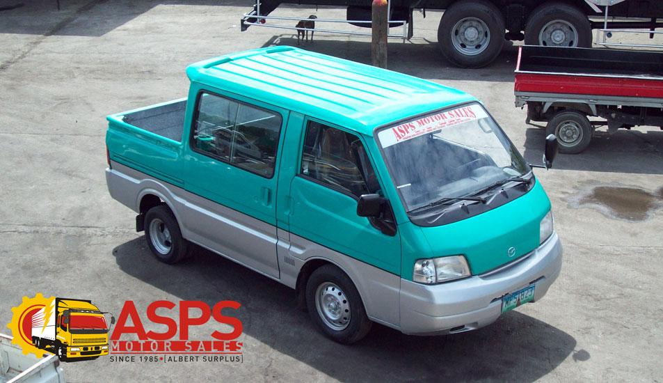 Kia Philippines Price List >> MAZDA BONGO DOUBLE CAB 4×2 | ASPS Motor Sales